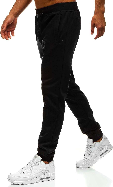BOLF Hombre Pantalón De Chándal Jogger Pantalones Deportivos Pantalón de Algodón Estilo Urbano 6F6
