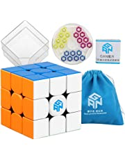 Coogam Gans 354 M Speed Cube Stickerless 3x3 Gan354 Magnetic Puzzle Cube