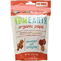 Yum Earth Organic Fruit Pops 14 Pieces, 87 g