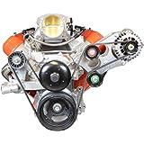 LS Truck Heavy Duty Billet Alternator Bracket Kit LSX 4.8L 5.3L 6.0L Top Driver Head Mount, 551566-3