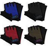 Freehawk Kids Cycling Gloves,Non-Slip Ultrathin Children Half Finger Bicycle Cycling Breathable Gloves Roller-Skating…