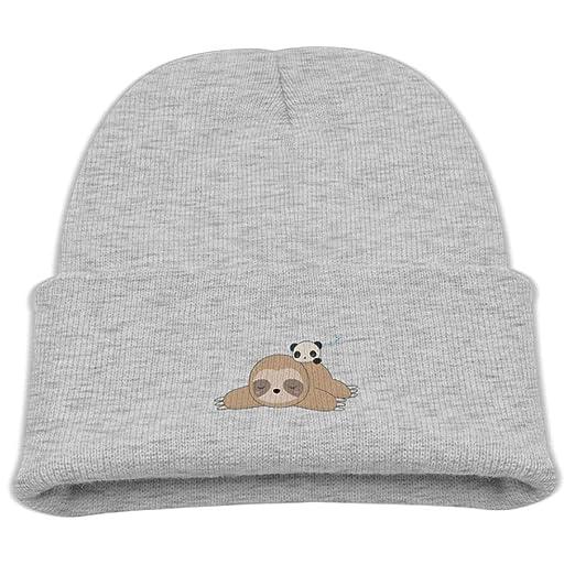 f7889cba3 Banana King Sleeping Sloth and Panda Baby Beanie Hat Toddler Winter ...