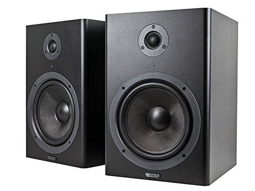 Monoprice 8-inch Powered Studio Monitor Speakers