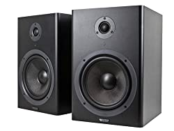 Monoprice 8-inch Powered Studio Monitor Speakers (pair)