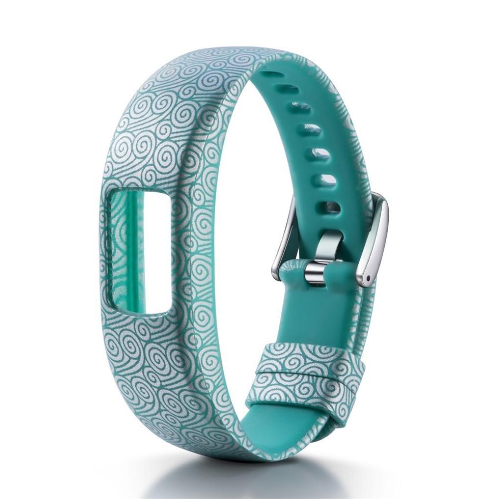 Bandas para Garmin Vivofit 4 Patrón de Mode de Silicona Pulsera ...