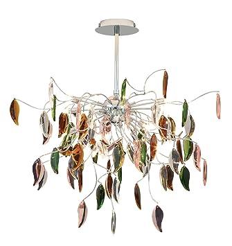 possini euro design vibrant leaves of light chandelier - Possini Euro Design