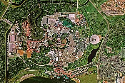 picture regarding Printable Magic Kingdom Maps identified as Walt Disney Entire world Magic Kingdom 24\