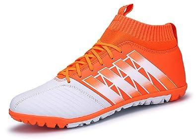 61e75e941 JIYE Men Soccer Shoes for Women Breathable Lightweight Turf Football Shoe  Fashion Training Sneakers