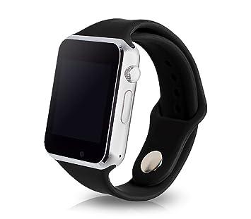 Reloj Smartwatch A1 bluetooth con sim gsm con app para iOS y Android: Amazon.es: Electrónica