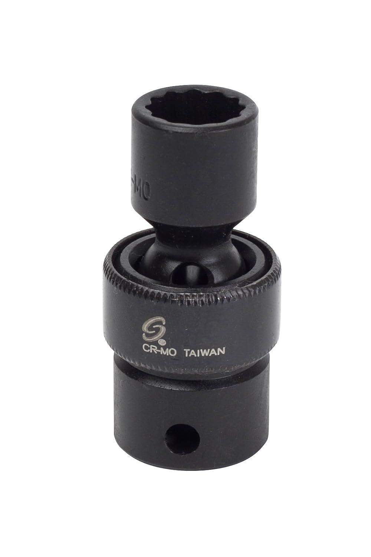 Sunex 312uz 3 / 8インチドライブ3 / 8インチ12ポイントユニバーサルインパクトソケット B0076HIV38