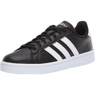 adidas Women's Grand Court Running Shoe, Core Black/Cloud White, 10.5 M US