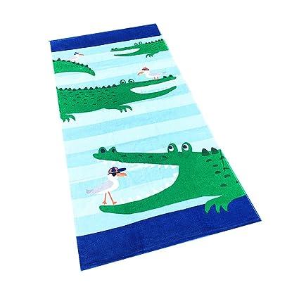 Ni/ñas Ni/ños Poncho 100/% Cotton Manta Animal Nataci/ón Toalla Beb/é Nadando Surf Deporte Ba/ñera Fiesta Cobija Ni/ños Toalla de Ba/ño Albornoz de Playa