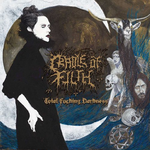 CD : Cradle of Filth - Total F***ing Darkness [Explicit Content] (CD)
