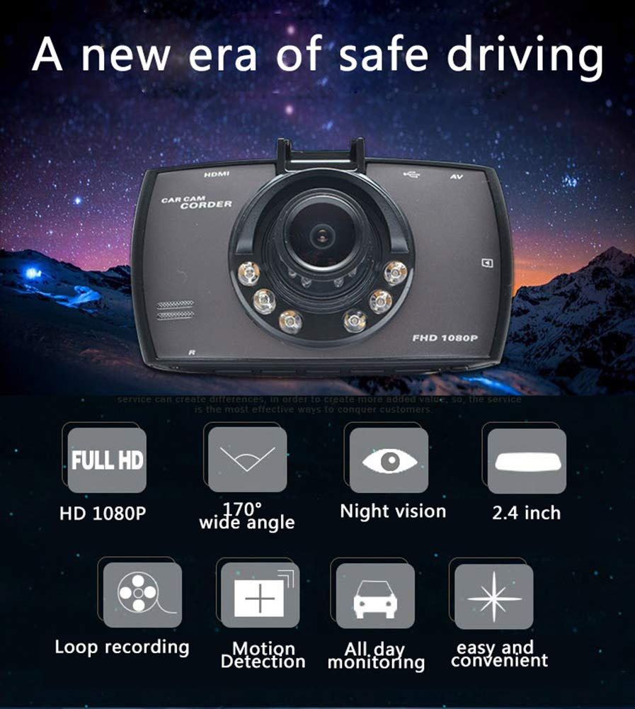 ZYWX-Full-HD-1080P-27-Inch-Car-Video-Recorder-170-Wide-Angle-Loop-Recording-Motion-Detection-All-Day-Monitoring-Night-Vision-Driving-Recorder