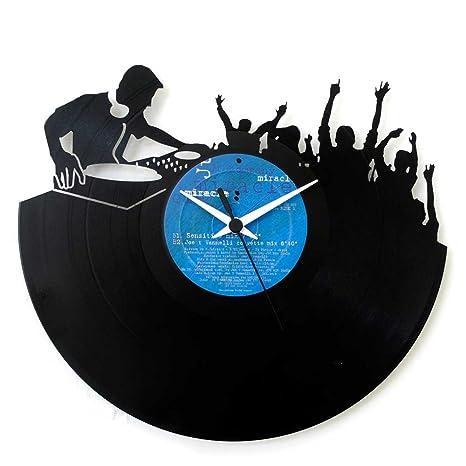 Dj, Disyóquey, idea regalo, perfecto para Disyóquey, regalo especial, reloj de