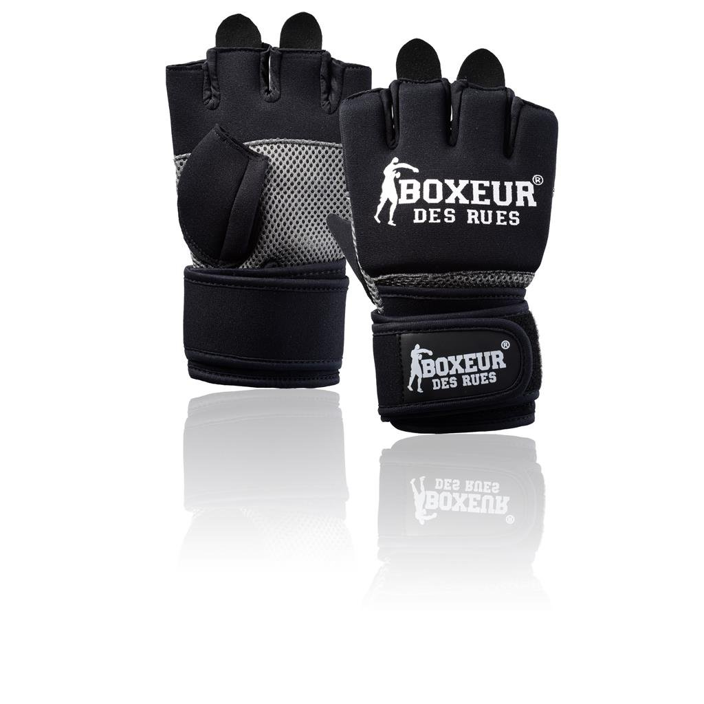 BOXEUR DES RUES Fight Activewear Guanti da Fit-Boxe in Neoprene BXT-5142