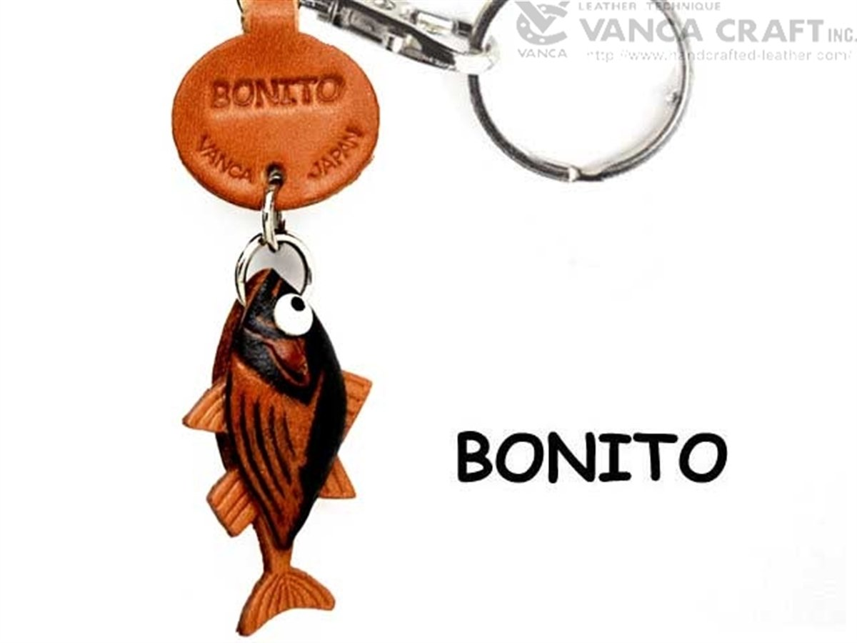 Bonitoレザー魚 Small/SeaAnimal Small Keychains B008DPWCB4 VANCA Keychains craft-collectibleキーリング日本製 B008DPWCB4, あきんどざむらい:03705a44 --- awardsame.club