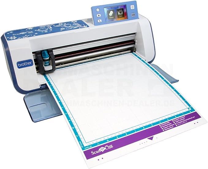 Brother 4977766733328 - Scancut cm840-plotter de Corte con escáner ...