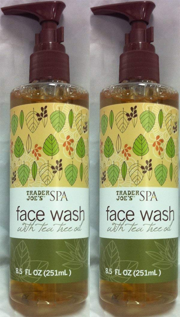 Trader Joe's Spa Face Wash with Tea Tree Oil (2 Packs)