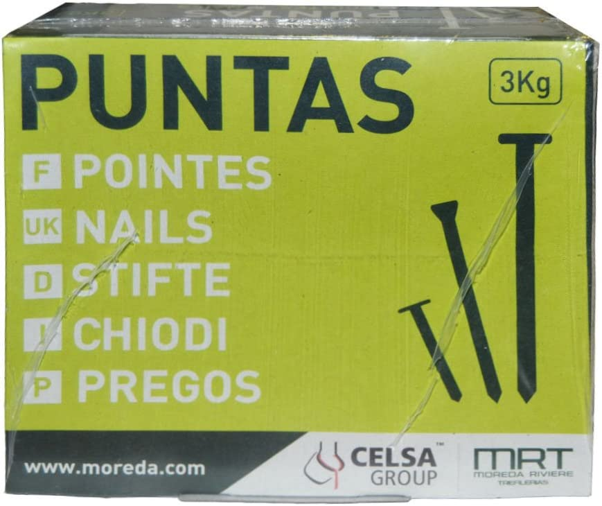 MRT 17067506 Puntas Cabeza Perdida 8 x 25 mm