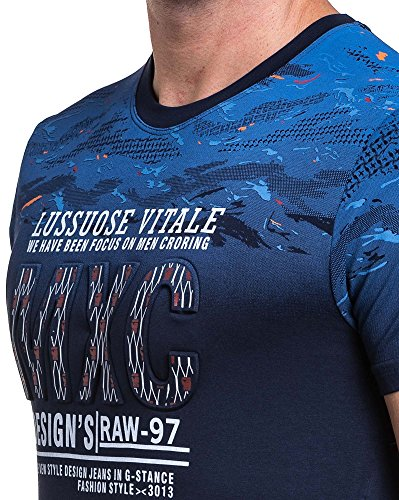 BLZ Jeans - Camiseta - para hombre Azul