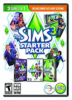 The Sims 3 Starter Pack - PC/Mac (B00C0K4YHI) | Amazon Products