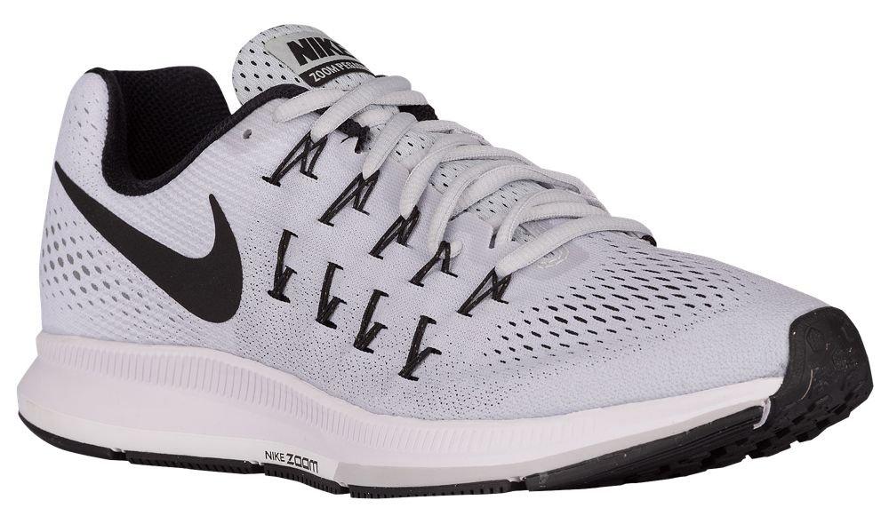 [ナイキ] Nike Air Zoom Pegasus 33 - メンズ ランニング [並行輸入品] B072FRJ1XG US08.5 Pure Platinum/Black/White