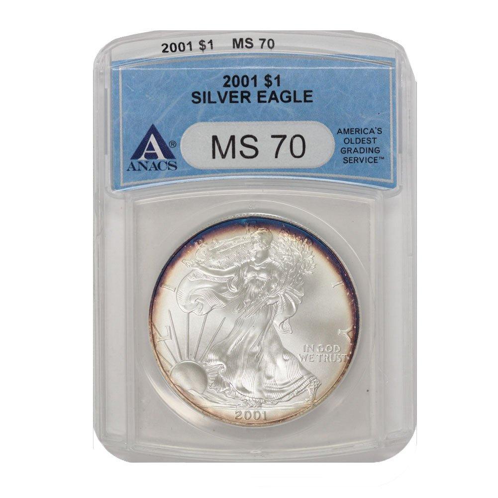 2016 P American Silver Eagle ANACS MS70