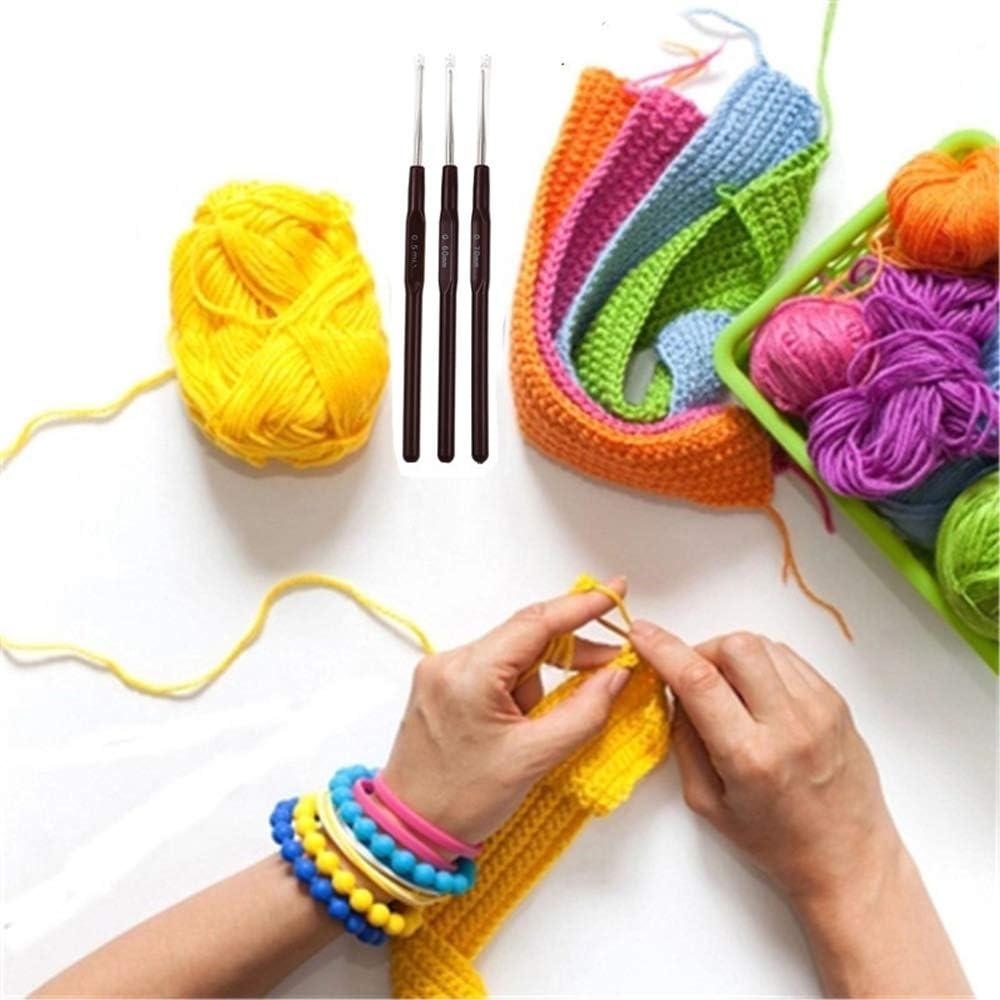 0,5 mm Dragonface Haken H/äkelnadel Mix 0.5mm-2.7mm Small Size Yarn Weave Stricknadeln F/ür Spitze Puppen DIY Tools 1Pcs
