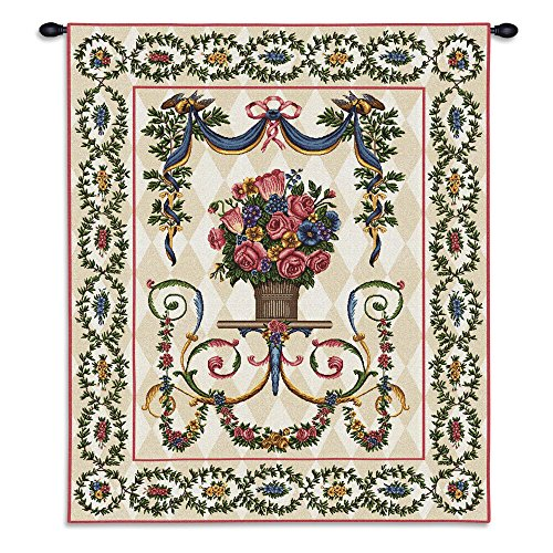 Pure Country Floral Majesty Wall Tapestry (Pure Country Weavers Floral Tapestry)