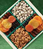 Kosher Healthy Succulent Dried Fruit & Nut Crate (Medium)