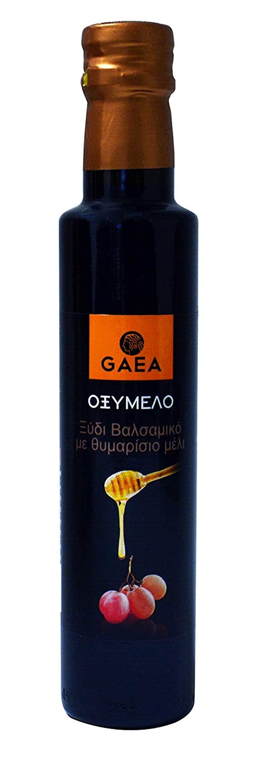 Oxymelo-The Balsamic vinegar of the ancient Greeks. Balsamic Vinegar With Thyme Honey 250ml (8.50oz)