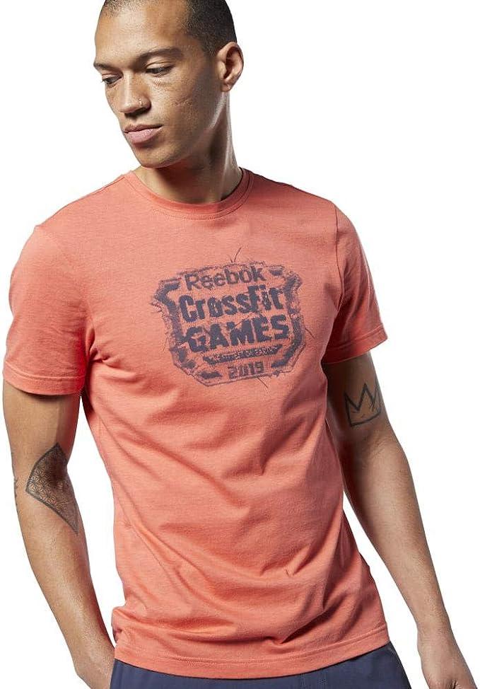 Reebok RC Distressed Crest tee - Camiseta Hombre: Amazon.es: Deportes y aire libre