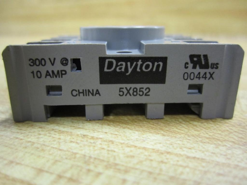 61S1TN tbgL._SL1024_ dayton 5x852 socket, relay, 8 pins electronic sockets amazon com Basic Electrical Wiring Diagrams at crackthecode.co