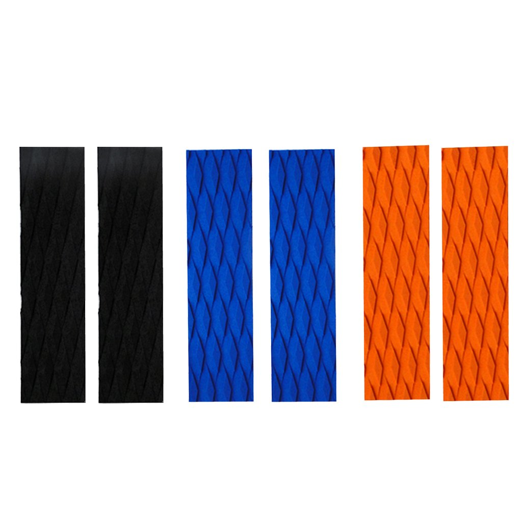SM SunniMix 2Pcs Front Traction Pad for Surfboards and Skimboards Boat Kayak SUP Deck Grip Tail Pad Accessories Choose Color