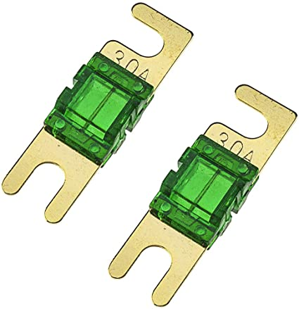 Tomzz Audio 5800 052 Mini Anl Sicherungshalter Transparent Für Kabel Bis 25qmm 2 X 30a Sicherung