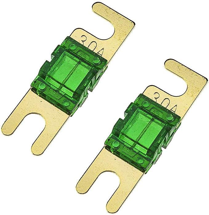 Tomzz Audio 5800 067 Mini Anl Sicherung 30a 2 Stück Elektronik