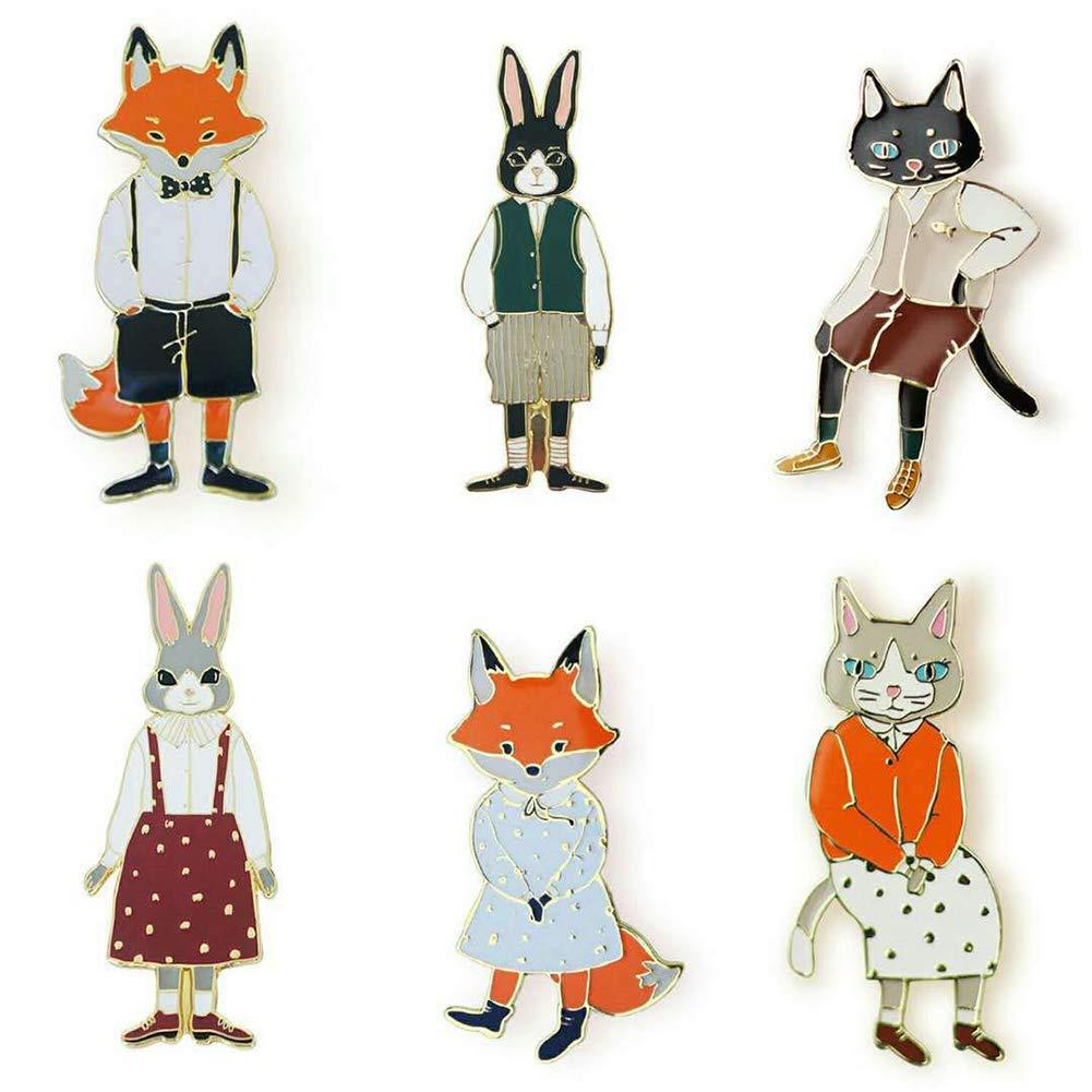 Broche Foulards ou Ponchos Femme M CAOLATOR Broche cr/éative Animal Mignon Broche en m/étal Vintage pour ch/âles Cat