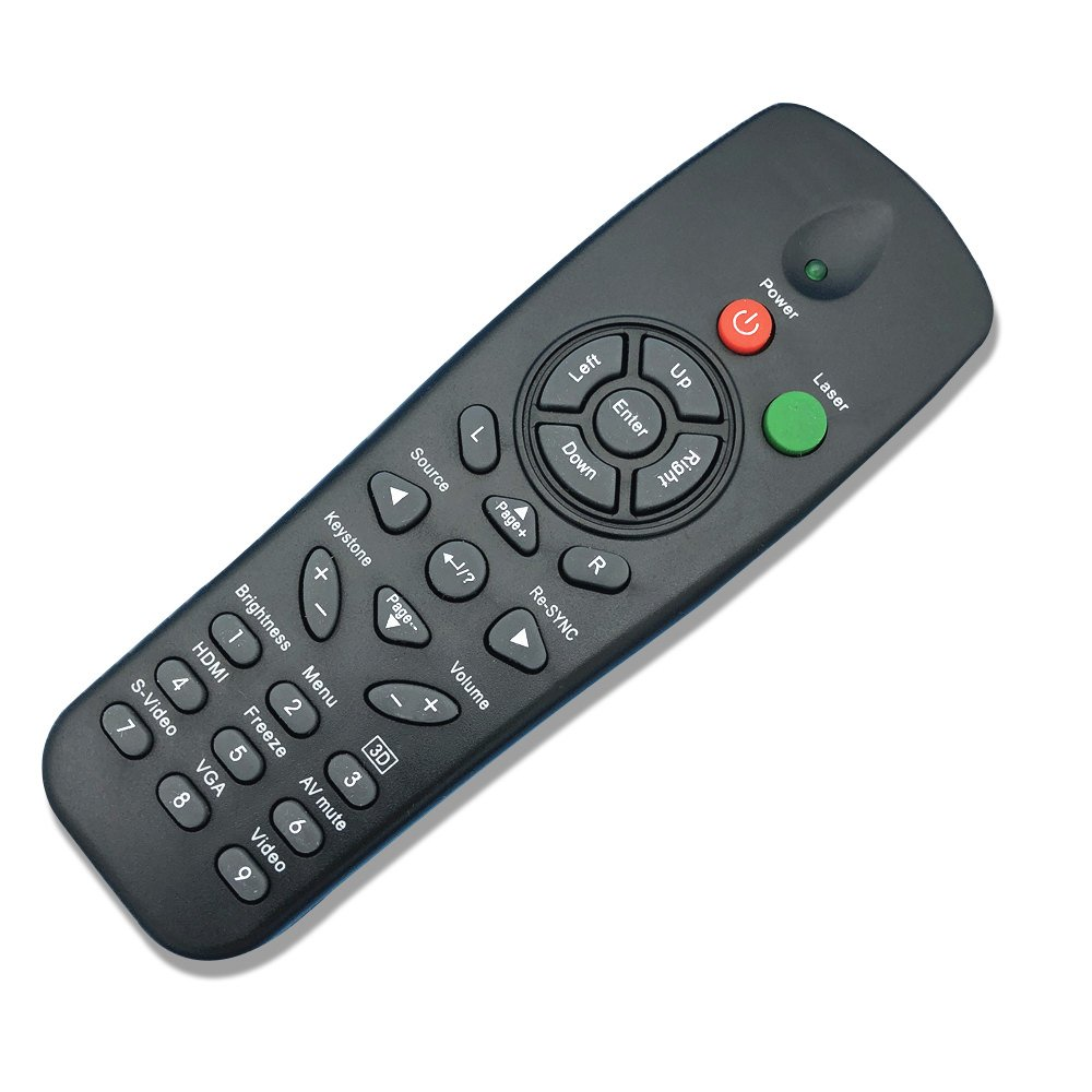 HONONJO Replacement Remote Control for Optoma Projector Remote Control for DS322 DS317 DS316 DS312 DS315 DS219 DS216 DS211 DS306 DS671 ES530 ES529 ES521 ES522 ES520 ES531 EP720 EP727 by HONONJO