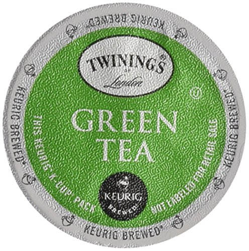 Twinings Green Tea, K-Cup for Keurig Brewers, 24-Count (Pack of 2)