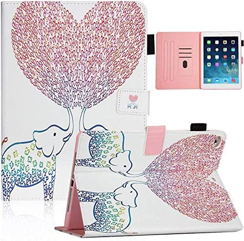 Lamp 9.7Inch Case Bear Village/® iPad Air Anti Scratch Shell with Adjust Stand Colorful Design Leather Stand Case for Apple iPad Air 9.7Inch