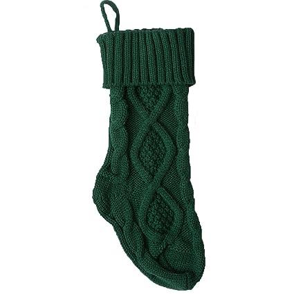 sexybody medias de Navidad, calcetines de rombos Cable Relleno para decoración de regalo para niños