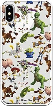 Funda para iPhone X - XS Oficial de Toy Story Muñecos Toy Story Siluetas para Proteger tu móvil. Carcasa para Apple de Silicona Flexible con Licencia Oficial de Disney.: Amazon.es: Electrónica