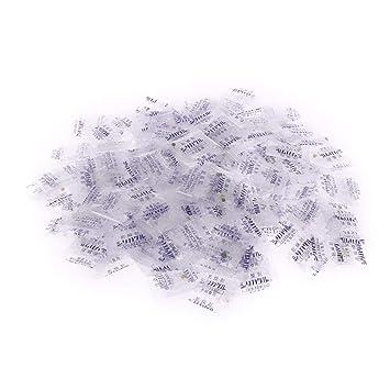 100x 1g Silicagel Trockenmittel Feuchtigkeit Absorber Luftentfeuchter DE