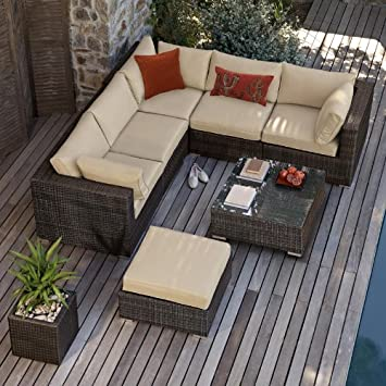 kensington corner sofa set rattan outdoor garden furniture