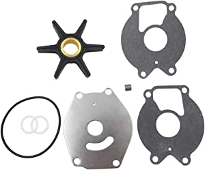 UANOFCN Water Pump Impeller Kit for Mercury 18hp 20hp 25hp 18-3215 47-85089Q4 47-85089T7
