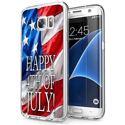 Amazon.com: 4Th of July American Flay - Carcasa para Samsung ...