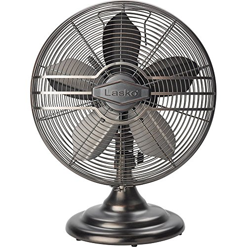(Lasko R12210 12 Metal Table Fan)
