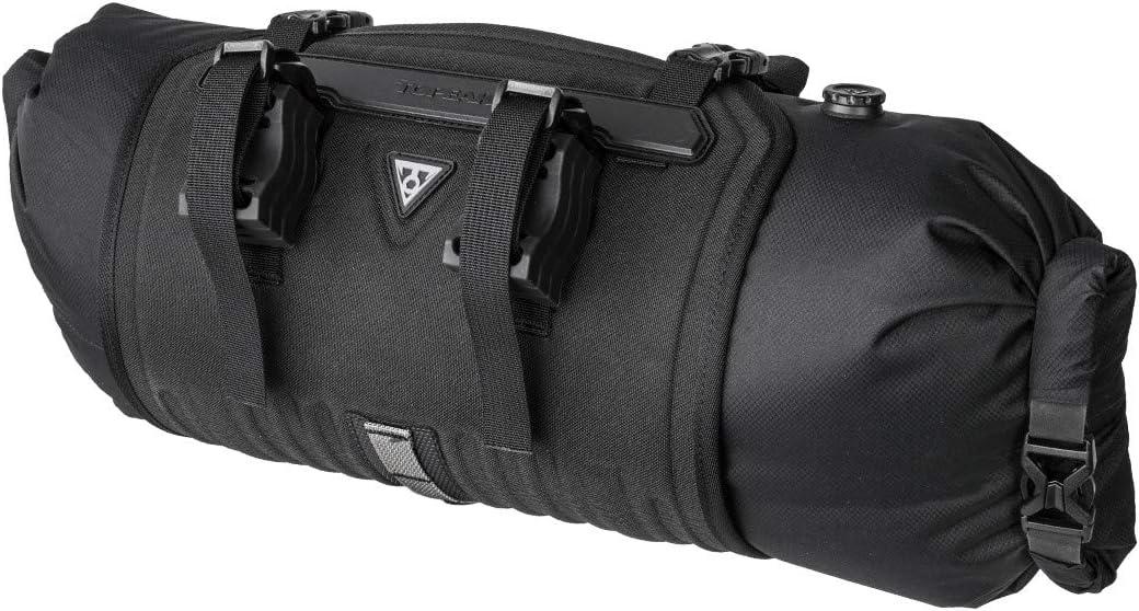 "Topeak Frontloader 8 litros Bolsa para Manillar, Deportes y Aire Libre, Negro, 50 x 15 x 15 cm / 19.7"" X 5.9"" x 5.9"