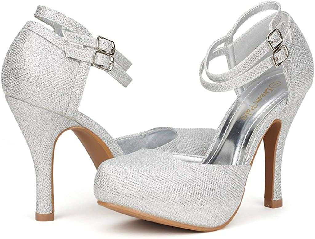 DREAM PAIRS Office-02 Women's Classy Stra Double Ankle Mail order cheap Max 50% OFF Mary Jane